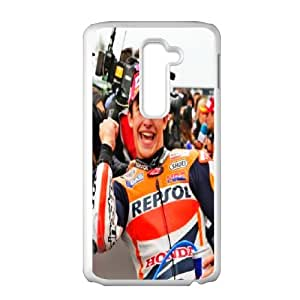 Personalized Creative Marc Marquez For LG G2 LOSQ402124