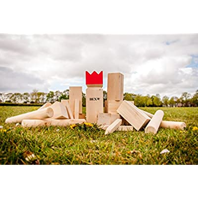 BEX Garden Games - Wooden, 30x7x7 cm: Sports & Outdoors