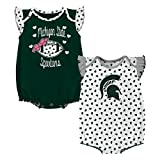 Gen 2 NCAA Michigan State Spartans Newborn & Infant Heart Fan 2pc Bodysuit Set, Multi, 0-3 Months