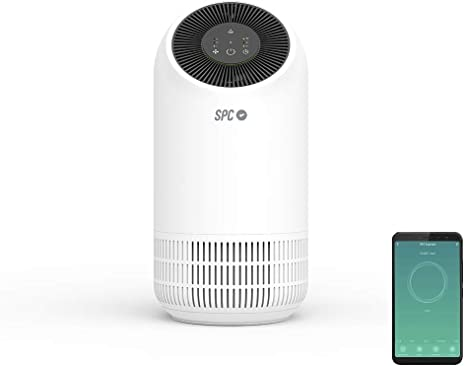 SPC Espirare: Purificador de aire inteligente, Wi-Fi, Control ...