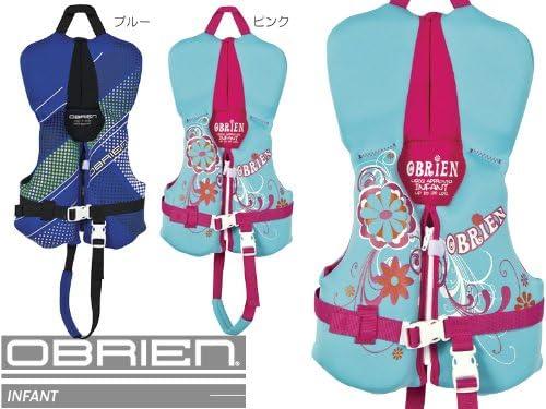 OBRIEN(オブライエン) 米国沿岸警備隊承認 子供用ライフジャケット INFANT(インファント) ピンク