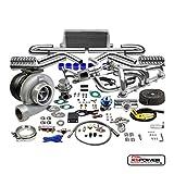 camaro turbo - GT45 13PC T4 TURBO KIT+MANIFOLD+INTERCOOLER CHEVY SMALL BLOCK SBC CAMARO/PICKUP