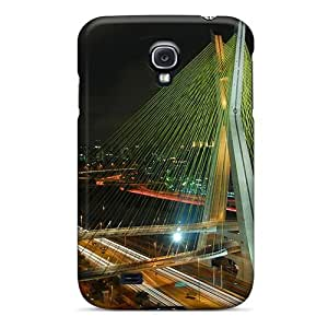 AnnetteL QfWtSHb1096YBium Case Cover Skin For Galaxy S4 (octavio Frias De Oliveira Bridge)