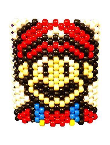 Mario/Luigi Kandi Cuff Rave Bracelets
