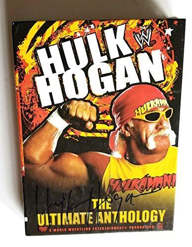 Hulk Hogan REAL hand SIGNED The Ultimate Anthology DVD 3x Set COA WWE