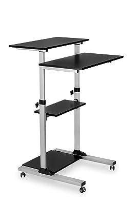 Mount-It! Mobile Standing Desk