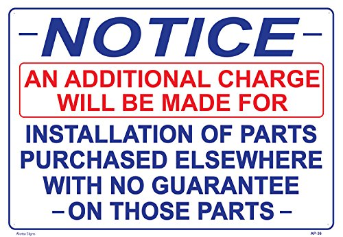 NOTICE AN ADDITIONAL CHARGE WILL BE MADE FOR INSTALLATION for sale  Delivered anywhere in USA