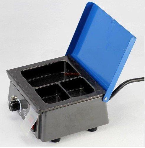 Dental Lab Equipment Analog Wax Heater Pot 3pots Waxing Dentist Instrument NEW