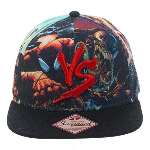 Marvel Multi Character Good vs. Evil Snapback Gorra De Béisbol