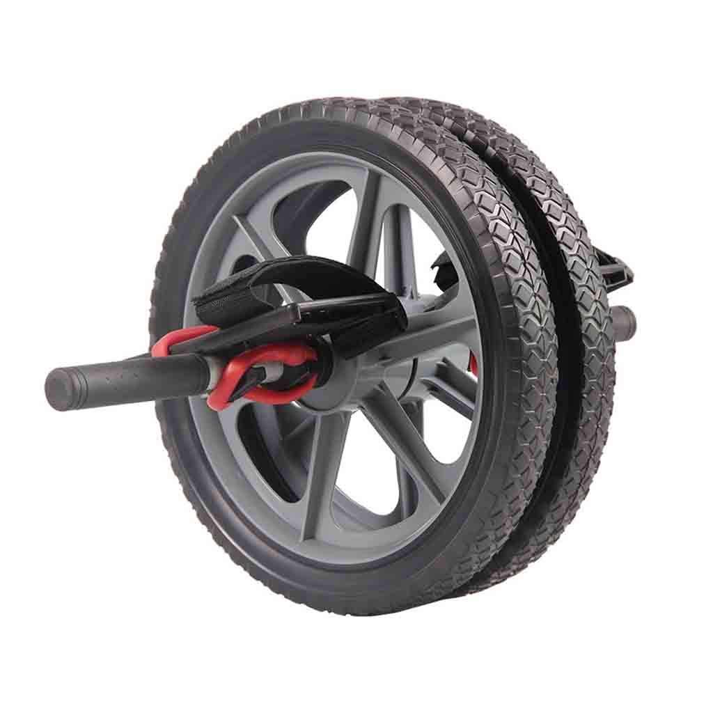 Gürtel für Gewichtheber Bauch Rad stumm Riesenrad Bauch Rad Bauch Rad Kunststoff Taillenrolle Rad Doppelrad Bauch Gerät Imitation Fahrradreifen