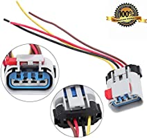 amazon com pigtail fuel pump connector wiring harness fit gm fuel pump pigtail ford fuel pump connector wiring #5