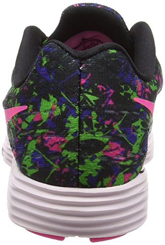 Multicolored Black Lunar Women's Pink Concord Print Tempo Shoes 2 Electric Green Training Blast NIKE Running zAwqw