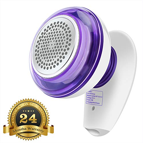 ADDSMILE Electric Lint Remover Rechargeable Fabric Shaver and Trimmer Clothes Shaver Kit for Fuzz Pill Bobbles Fleece Wool Blanket Curtain