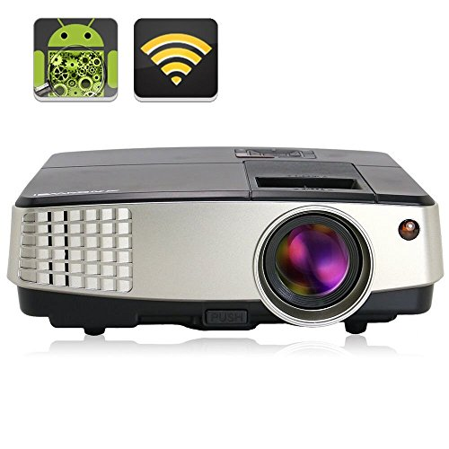 Mini portable projector hdmi wireless projector 2600lumen for Usb projector reviews