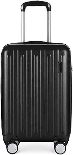 Carry on Luggage Hard Shell Suitcase with Spinner Wheels