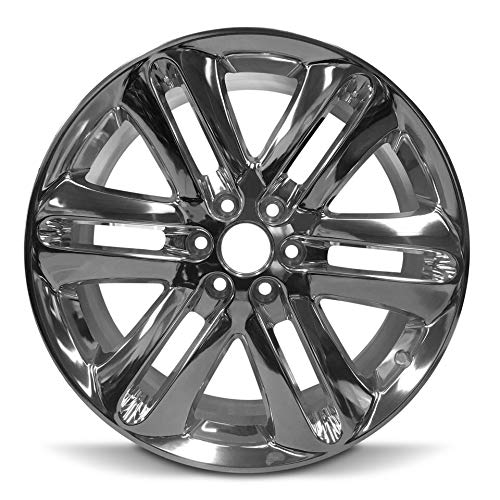 Road Ready Car Wheel For 2013-2014 Ford F150 22 Inch 6 Lug Chrome Rim Fits R22 Tire - Exact OEM Replacement - Full-Size Spare