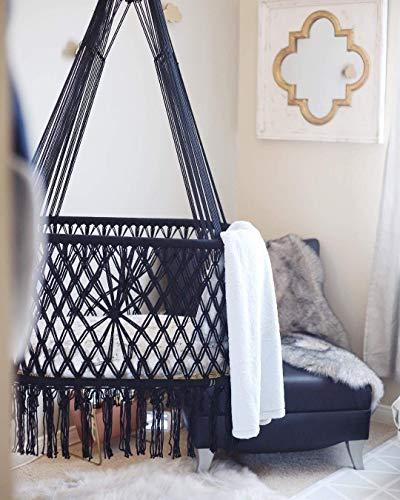 Hanging Crib in Macrame