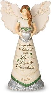 Pavilion Gift Company 82340 Elements Irish Blessings Angel Figurine, 6-1/2-Inch