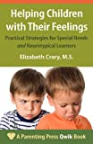 Helping Children with Their Feelings, Elizabeth Crary, 1936903148