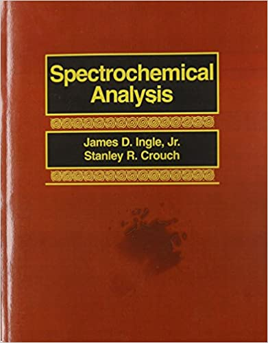 Book Spectrochemical Analysis