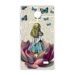 ZXCV Lovely butterfly girl Cell Phone Case for Nokia Lumia X