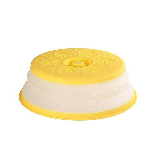 Lukame – Tapa para microondas, plegable, cesta de filtro para ...
