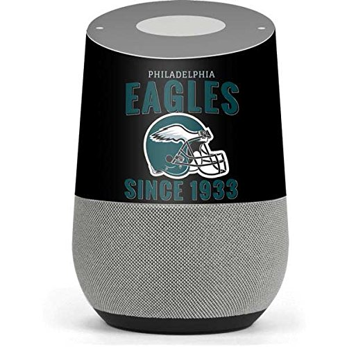 (NFL Philadelphia Eagles Google Home Skin - Philadelphia Eagles Helmet Vinyl Decal Skin For Your Home)