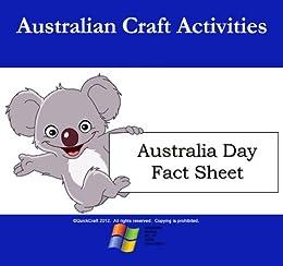 Kids Craft Australia Day Fact Sheet (Australia Day Activities Pack)