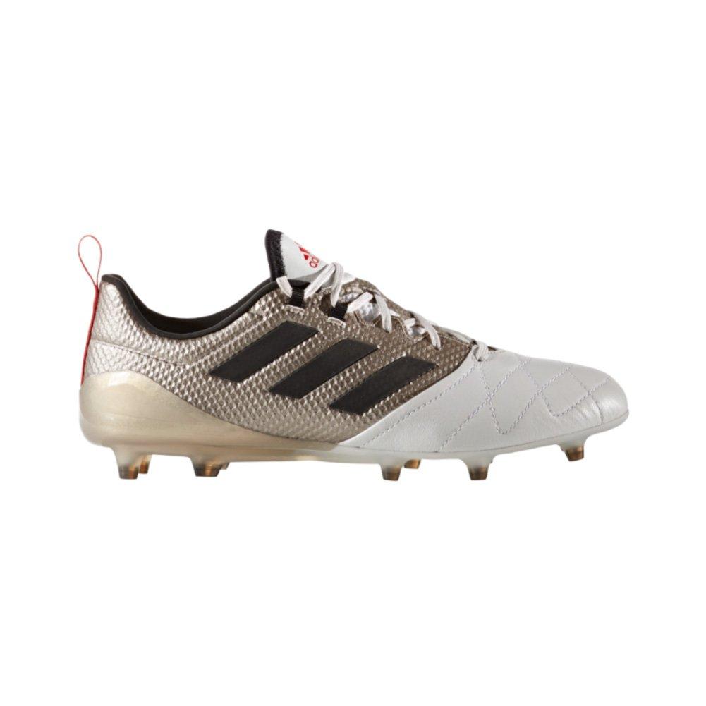 cheaper db812 f84b2 adidas Ace 17.1 FG Womens Soccer Cleats 6.5 Platinum Metallic/Black/Red