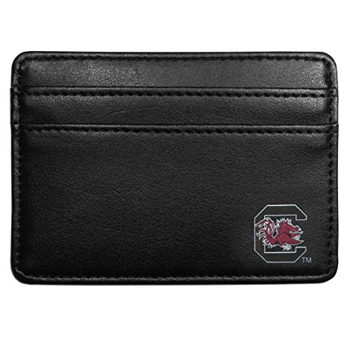 (Siskiyou NCAA South Carolina Fighting Gamecocks Weekend Wallet, Black)