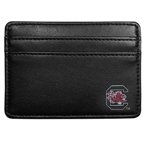 South Carolina Black Leather - NCAA South Carolina Fighting Gamecocks  Weekend Wallet, Black