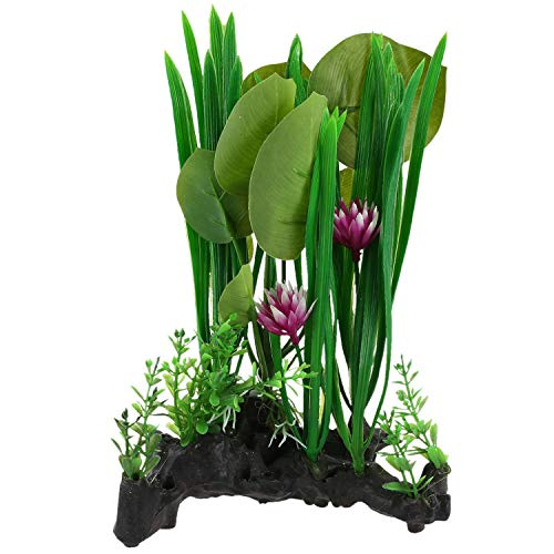 Mural Lizards - Terrarium - Aquarium Terrarium Lizard Tank Plants Landscacpe Decorative Ornament Reptiles - And Plant Terrarium Mural 3d Waterfall Glass Alo Lawn Vase & Assembly Floor Air Flower Turtle D
