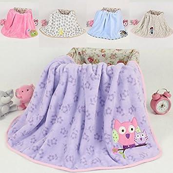 eb0c3962863a Amazon.com   High quality Fleece Baby Blanket plush baby blanket ...