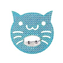 Set of 3 Creative Cute Cat Shaped Toothbrush Toothpaste Holder Hook for Kids, C