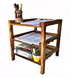 3 Tiers Shelves Documents Organizer Shelf Desk Supplies Holders Dispensers