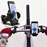 iTALKonline Sony Erricson Mix Walkman Black 360 Degree Rotation Case Compatible Bicycle Cycle Bike Handle Bar Holder Support Cradle