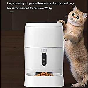 ZISITA-Automatic-Pet-Feeder-for-Cats-Dogs-Automatic-Pet-Food-Dispenser-Includes-Voice-Recorder-and-Digital-Timer-Programmable-Cat-Food-Dispenser