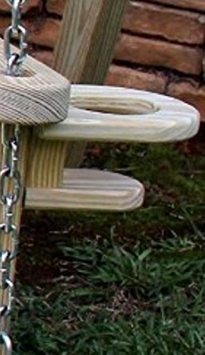 BLOSSOMZ Home Garden Lawn Outdoor Backyard Patio Two Cup Holder for Attaching to The Arm of 5Ft Or 4Ft Amish Swings