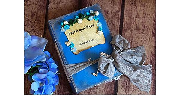 Wedding Birthday Party Alice Guest Book Set Sweet 16 Etc- Bling Fairytale Alice in Wonderland Guestbook Queen Hearts Disney