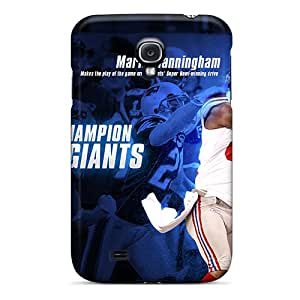 Protector Hard Phone Cases For Samsung Galaxy S4 With Custom Realistic New York Giants Series InesWeldon