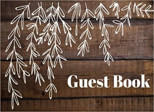 Airbnb Cabin Lake House Guest Book: Rustic Elite Guest Book Hotel Bed and Breakfast Vacation Guest Book to Sign In Guest House