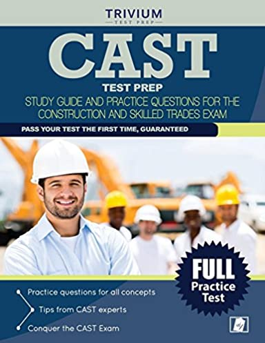 cast test prep study guide and practice questions for the rh amazon com Practice Cast Test Lineman Cast Test Study For