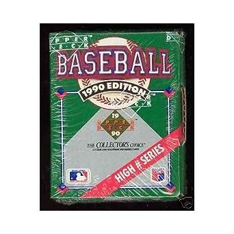 1990 Upper Deck Baseball Complete Box Set High Series Hi Factory