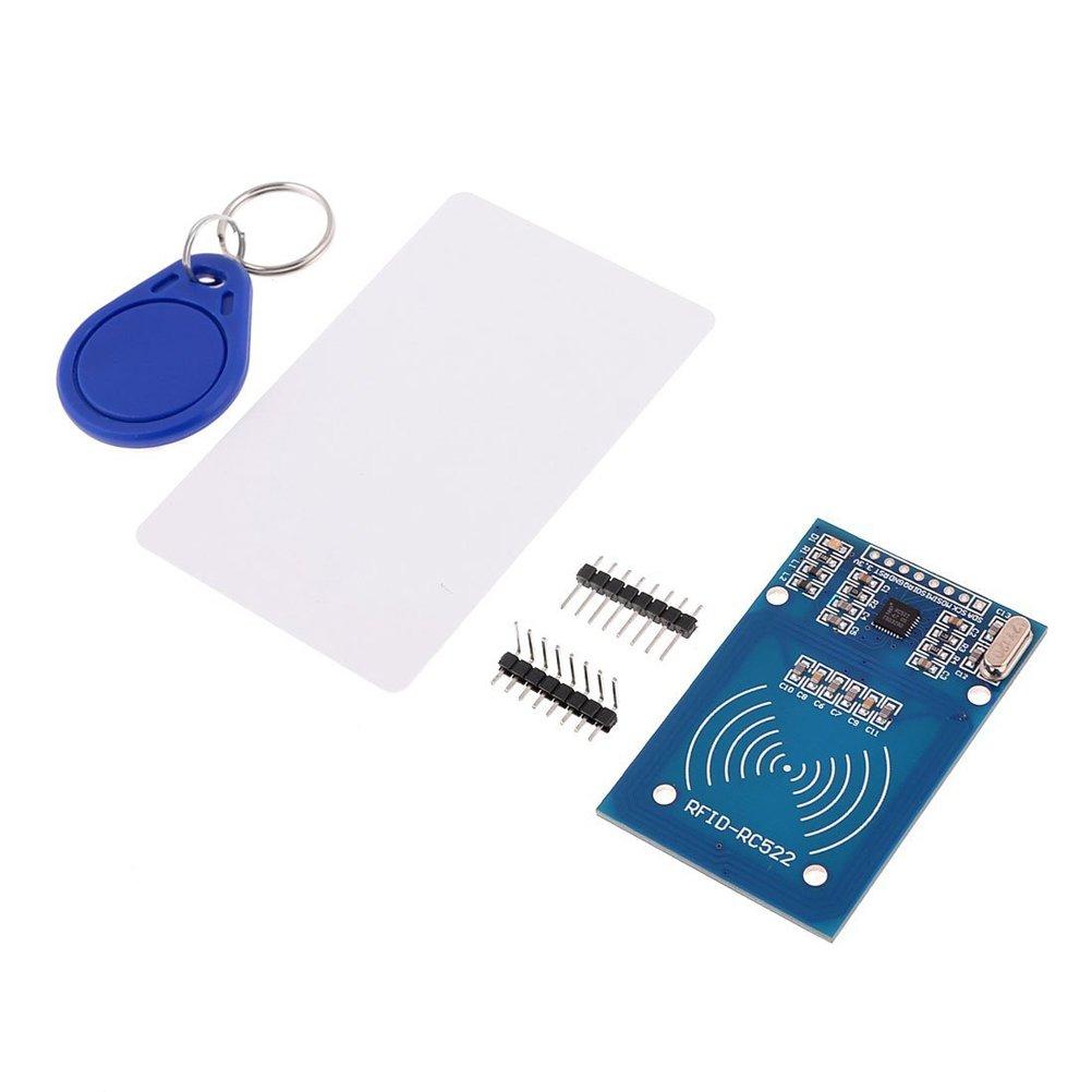 Foxnovo RFID-RC522 RF IC Card sensore modulo 13-26mA Kit DC 3.3 v 13, 56 MHz (blu) TTOOT LL18292