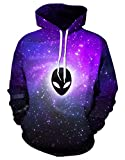 Product review for Gludear Unisex Realistic 3d Digital Print Pullover Hoodie Hooded Sweatshirt