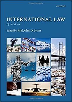 Book's Cover of International Law (Anglais) Broché – 6 juillet 2018