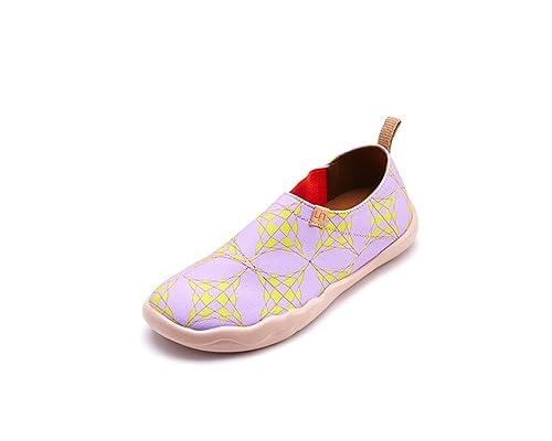 UIN - Mocasines de Lona para mujer Morado morado: Amazon.es: Zapatos y complementos