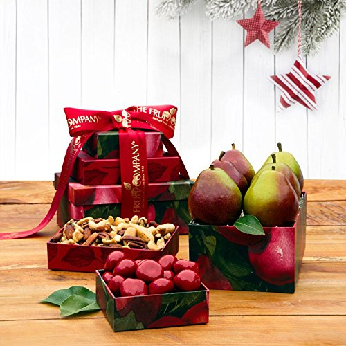 Pearfully Yours Mini Gift Tower - The Fruit Company