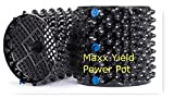 MaXX Yield Power Pot 6 Pack of 2 Gallon Equivalent Air Root Pruning Flower Pots