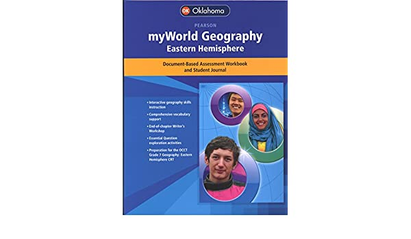 Pearson My World Geography Eastern Hemisphere Workbook